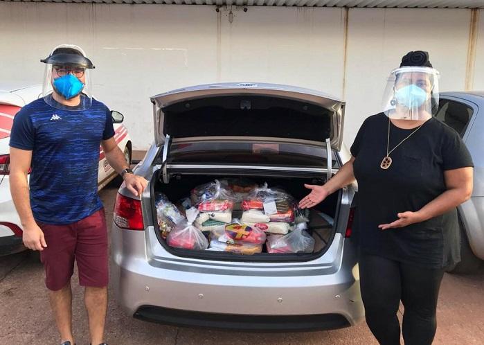 Com apoio popular, SOMOS consegue intermediar doação de mais de uma tonelada de alimentos