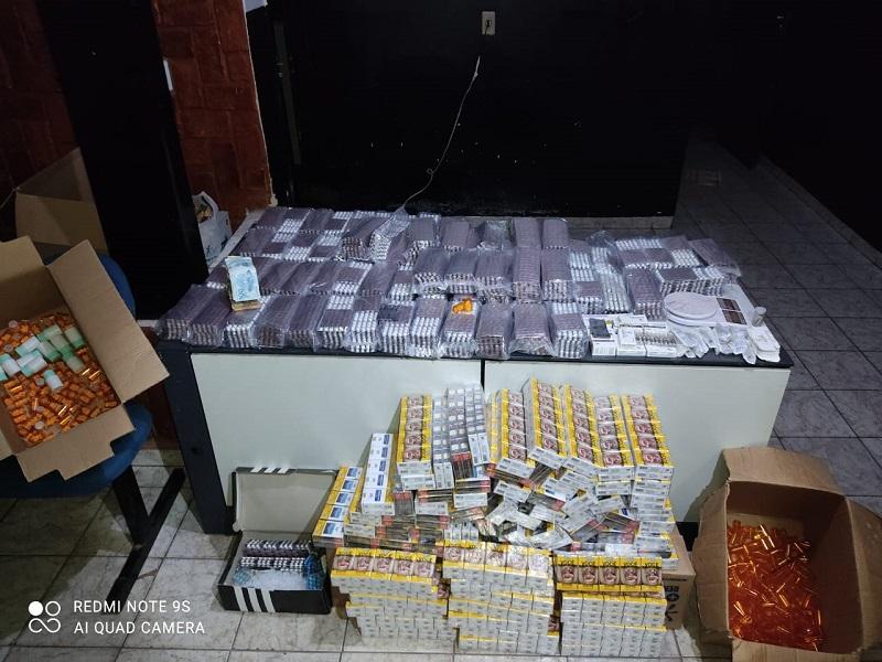 Polícia Civil apreende 52 mil comprimidos de anfetaminas em Colinas