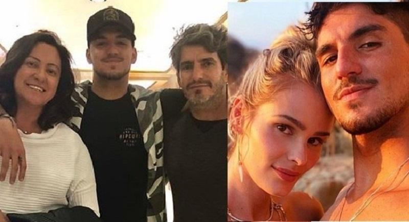Após união com Yasmin Brunet, surfista Gabriel Medina briga com a mãe e 'demite' pai