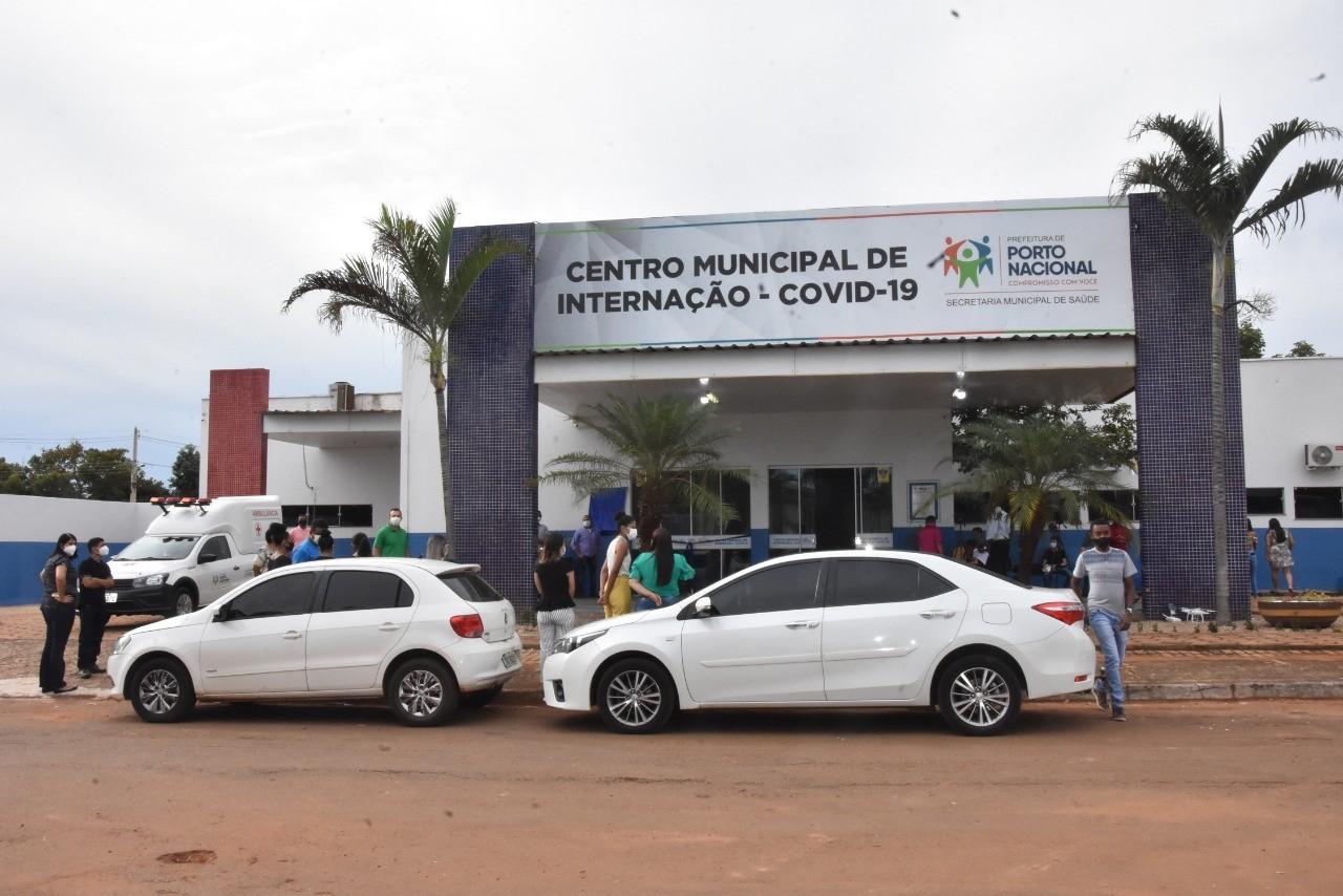 Prefeitura de Porto Nacional inaugura Centro Municipal de Internação – Covid-19