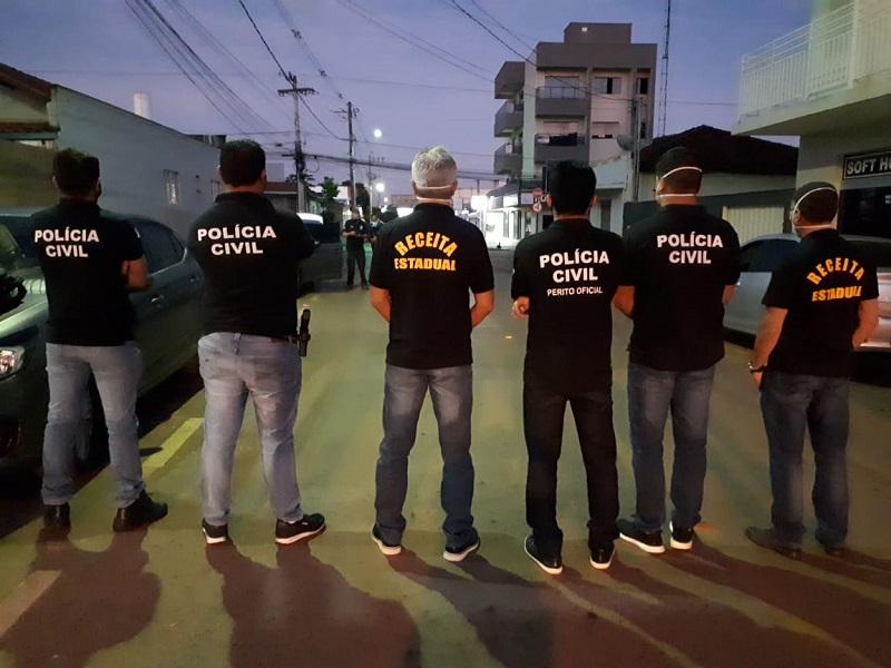 Polícia Civil do Tocantins e Secretaria da Fazenda deflagram operação para recuperação R$ 1,8 Mi em créditos tributários