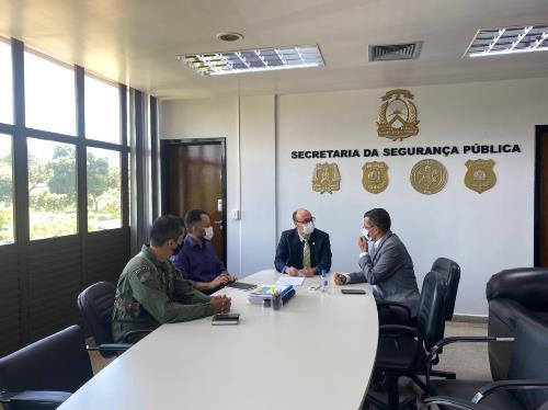 Segurança Pública e Naturatins celebram acordo para fortalecer fiscalização, monitoramento e combate a incêndios florestais