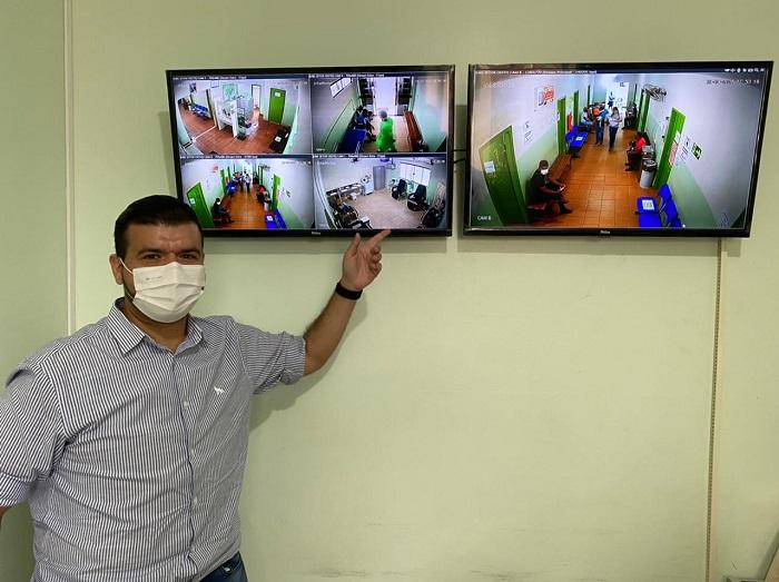 Sistema de monitoramento por câmeras contribui com segurança e atendimento em Unidades de Saúde de Paraíso