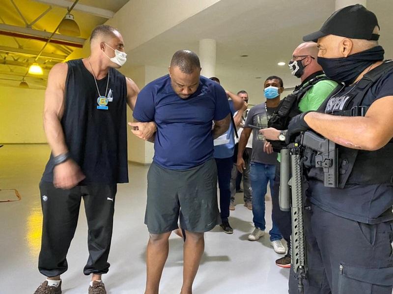 Polícia prende em Niterói um dos maiores traficantes de arma do mundo