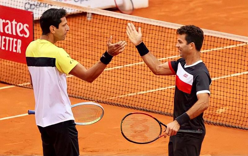 Melo e Rojer param nas oitavas de final do Masters 1000 de Madri e encerram a parceria