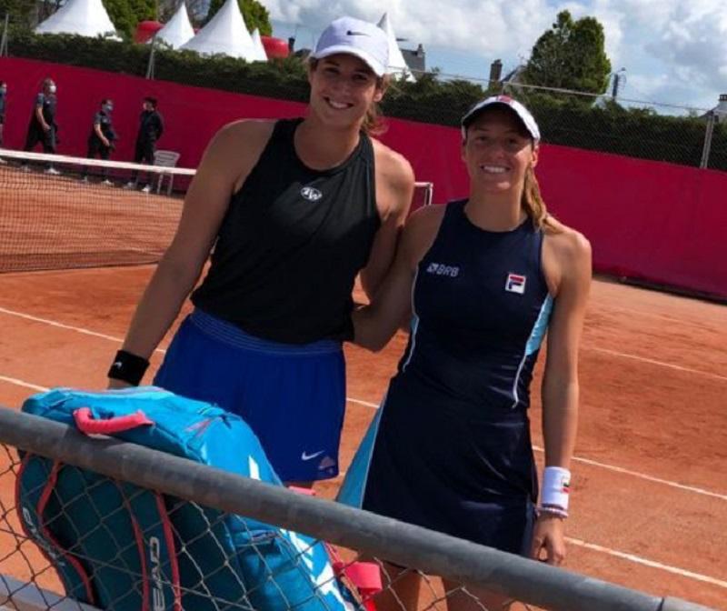 Luisa Stefani está na final de duplas do WTA 125 de Saint Malo, na França