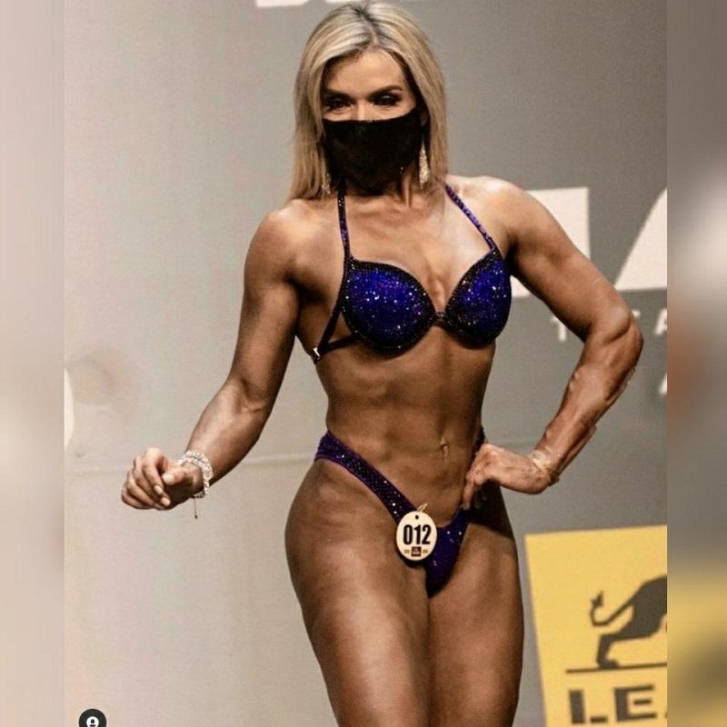 Musa Fitness Andréia Tokutake inspira mulheres para entrar para o fisiculturismo