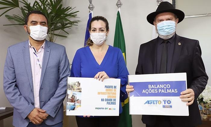 Governo do Tocantins e prefeita Cinthia Ribeiro estreitam parcerias para alinhar investimentos na capital
