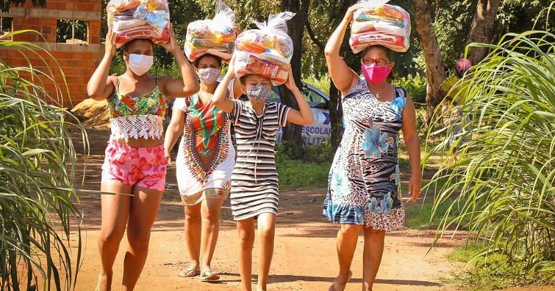 Governo leva cestas básicas a mais de 3,6 mil famílias de assentamentos rurais no sul do Tocantins