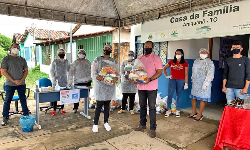 Setas atende mais de 7 mil famílias em mais uma etapa de entrega de kits de alimentos