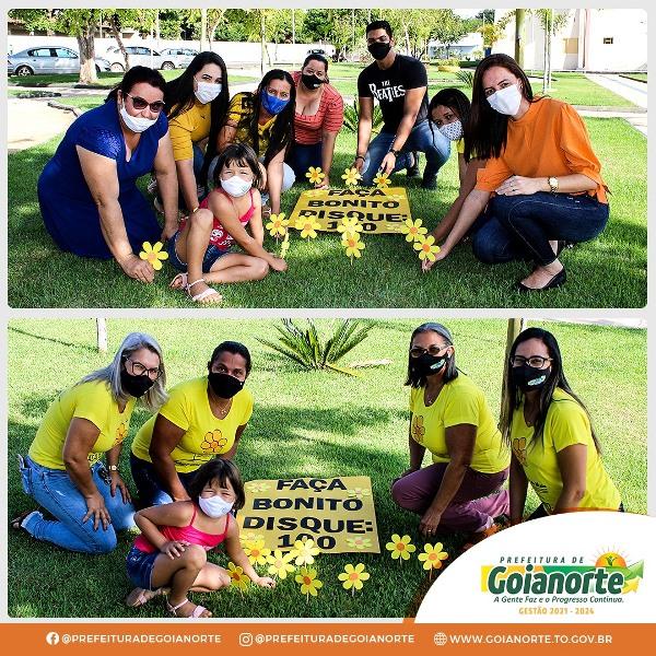 Goianorte faz mobilização em combate à violência sexual de crianças e adolescentes
