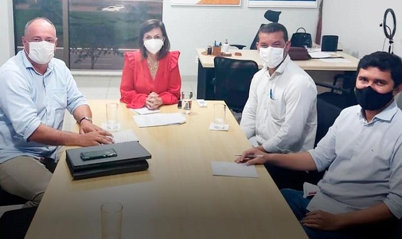 Gestores de Marianópolis e Divinópolis visitam deputada federal Prof. Dorinha em busca de recursos para o Consórcio do Vale do Araguaia
