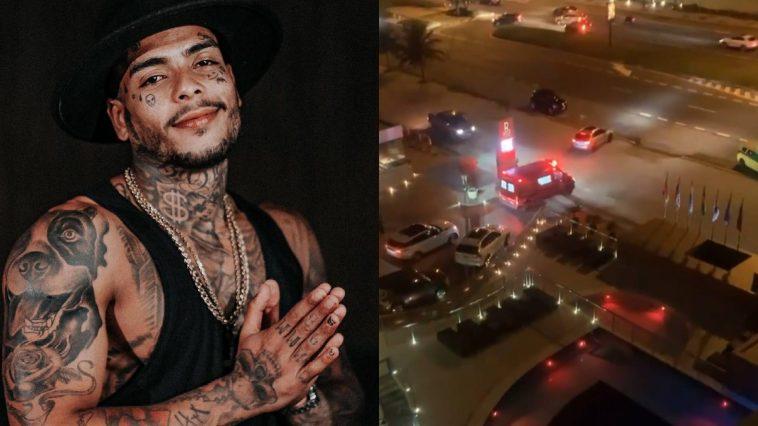Polícia suspeita que MC Kevin tenha pulado da sacada de hotel para a piscina