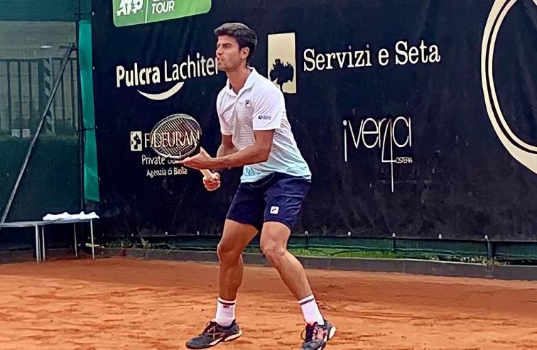 João Menezes estreia contra argentino nesta segunda-feira (17) no Challenger de Biella, na Itália