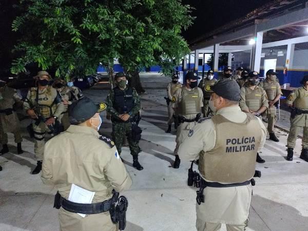 Operação Pulso Firme reforça policiamento ostensivo e redução da criminalidade em Palmas