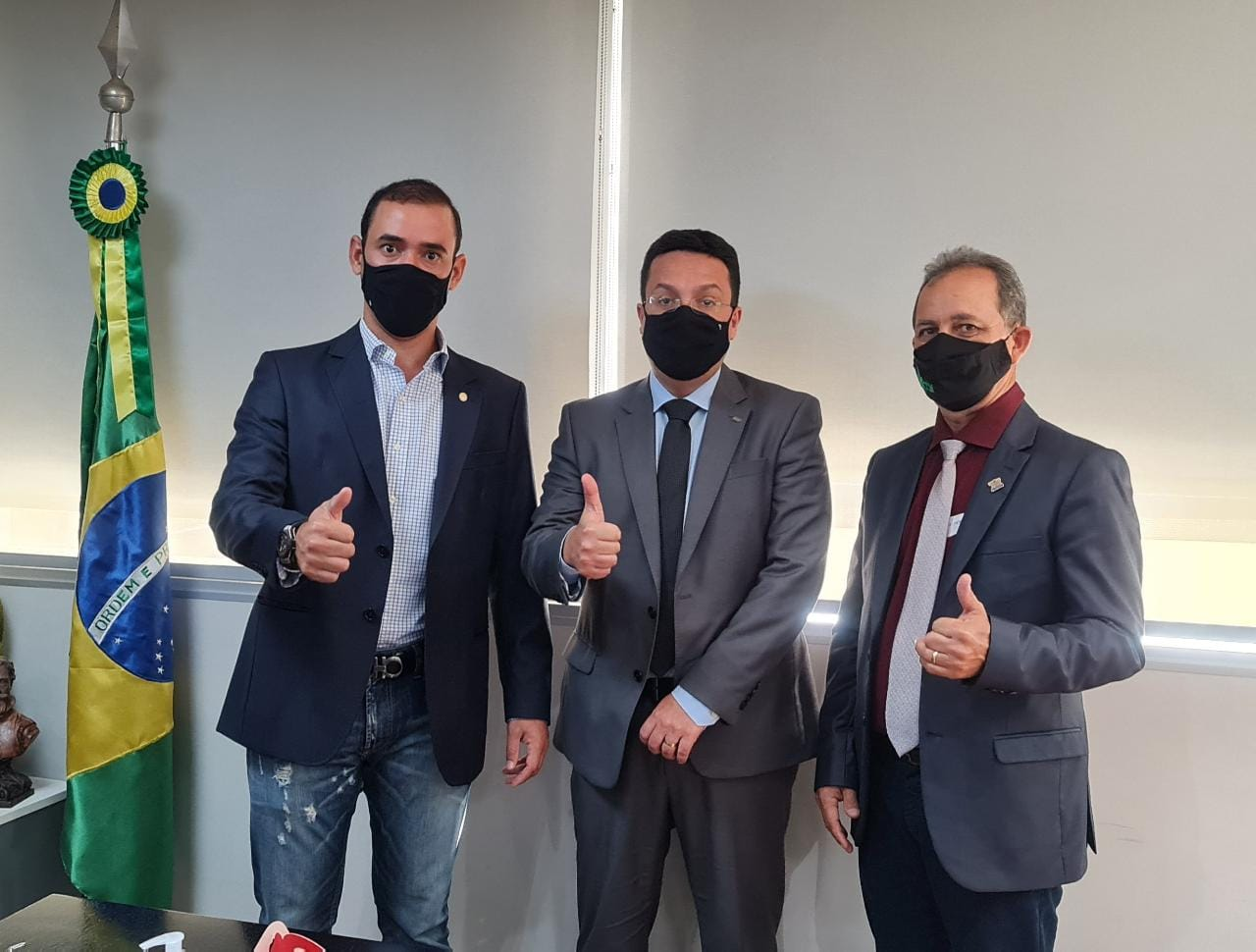 Prefeito de Miranorte reivindica obras e melhorias para a educação ao FNDE