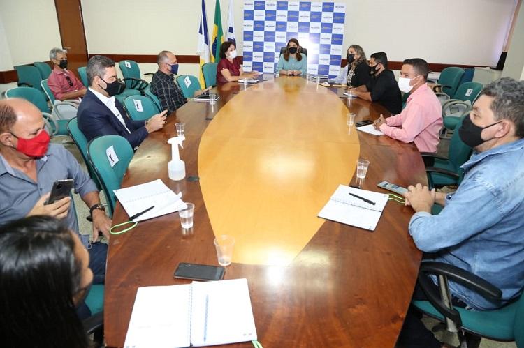 Adriana Aguiar recebe nova Diretoria Executiva da Undime-Tocantins para discutir proposta de trabalho conjunto