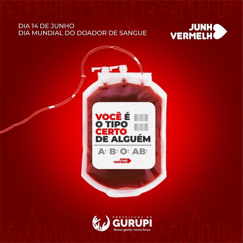 Dia Mundial do Doador de Sangue é comemorado em Gurupi