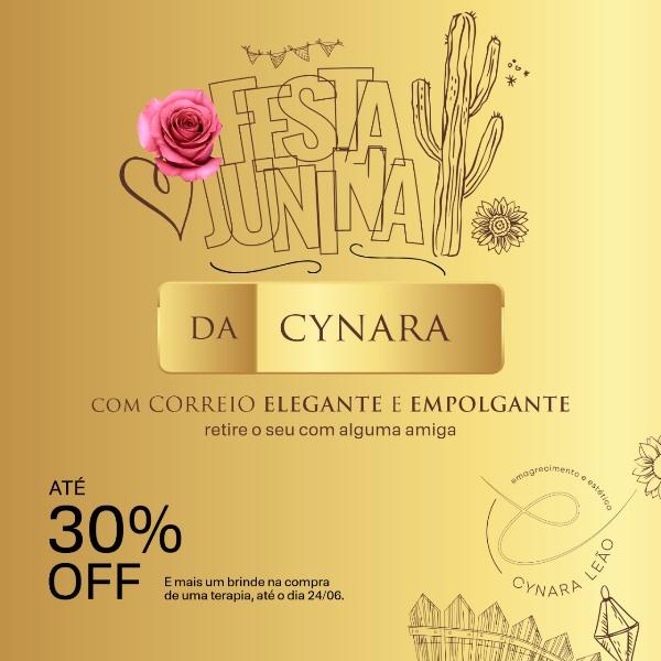 Em clima de festa junina, SPA Cynara Leão anuncia descontos em Paraíso