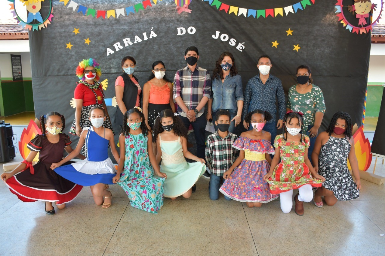 Escola Municipal José Ribeiro Torres promove evento cultural junino em Paraíso
