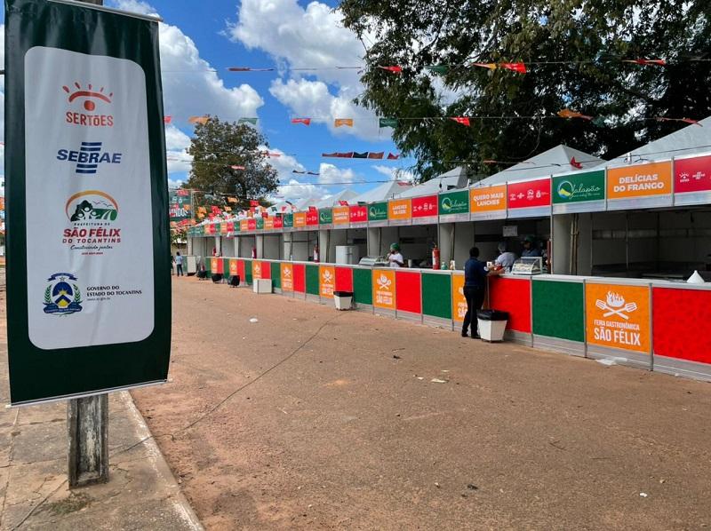 Feira Gastronômica de São Félix movimenta mais de 45 mil em vendas