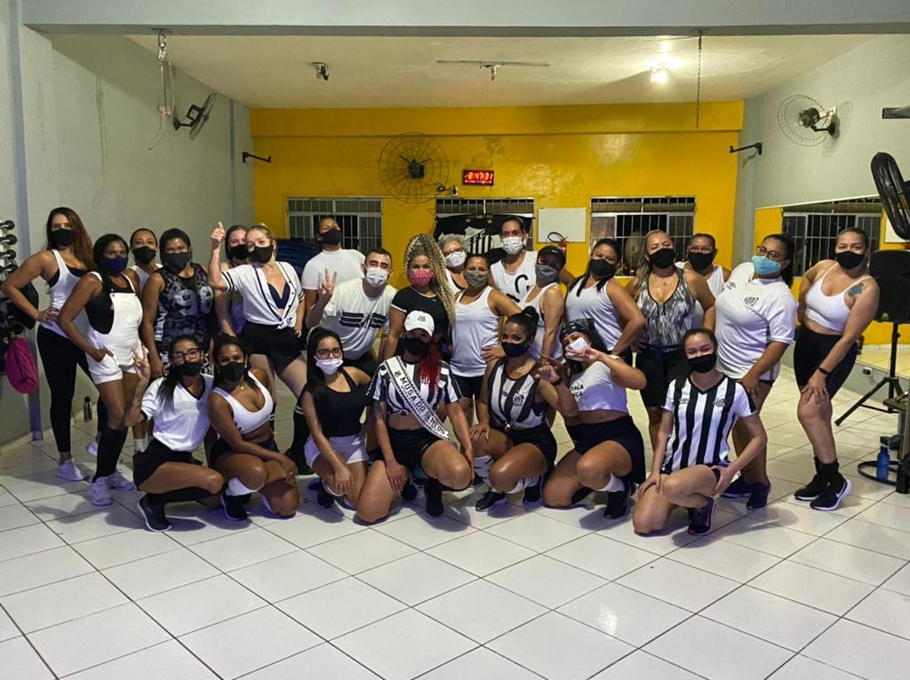 Musa do Santos, Sandra Gonçalves arrasa nas aulas de Fit Dance