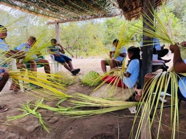 Governo do Tocantins apoia realização de oficina de artesanato Xerente