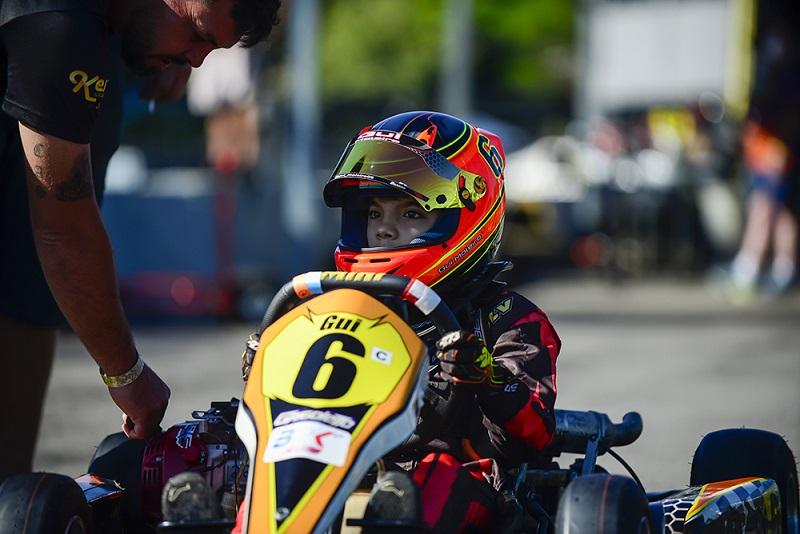 Guilherme Moleiro busca título da Cadete no Paranaense de kart, em Londrina