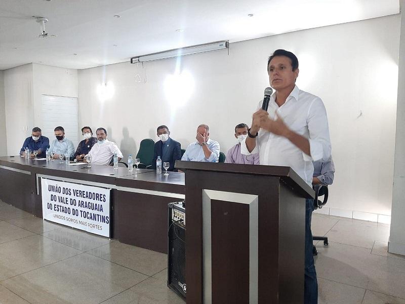 Consórcio dos Vereadores do Vale do Araguaia elege presidente e Nilton Franco prestigia momento histórico