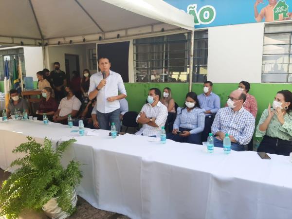 Nilton Franco prestigia inauguração do Núcleo de Identificação de Araguacema