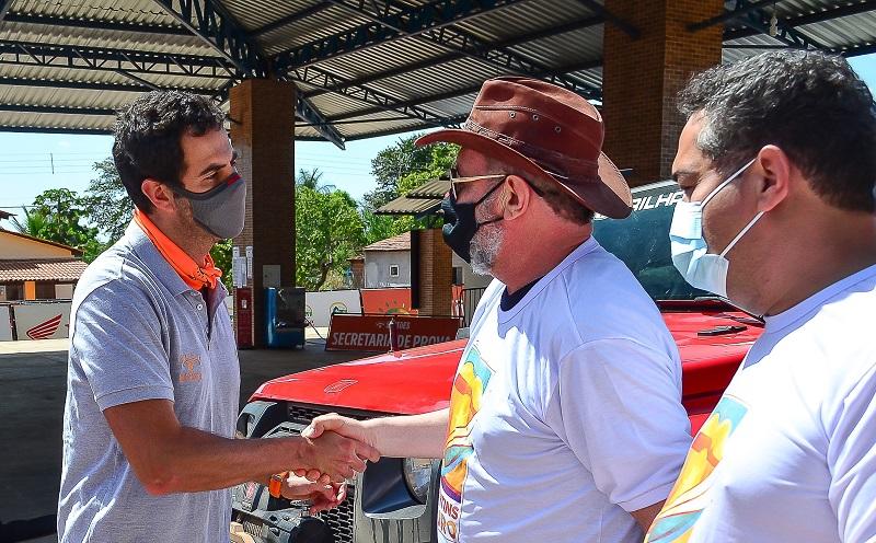 Trabalho em parceria garante sucesso das ações do Governo do Estado no rally Baja Jalapão