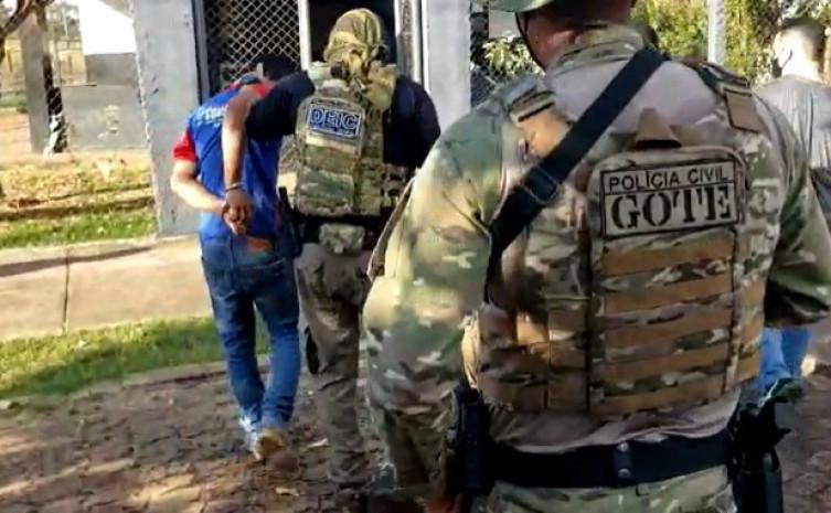 Forças de segurança cumprem mandados de busca e apreensão em Caseara e Araguacema