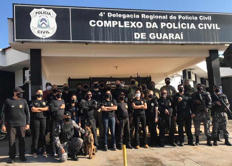 Polícia Civil prende 6 pessoas envolvidas com tráfico de drogas em Guaraí