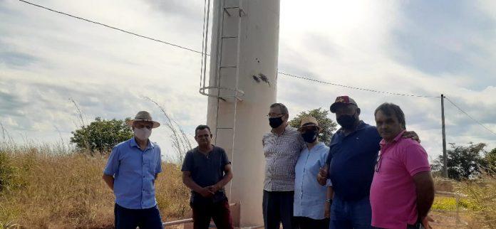 Prefeito de Pium realiza visita a obras em execução na zona rural do município