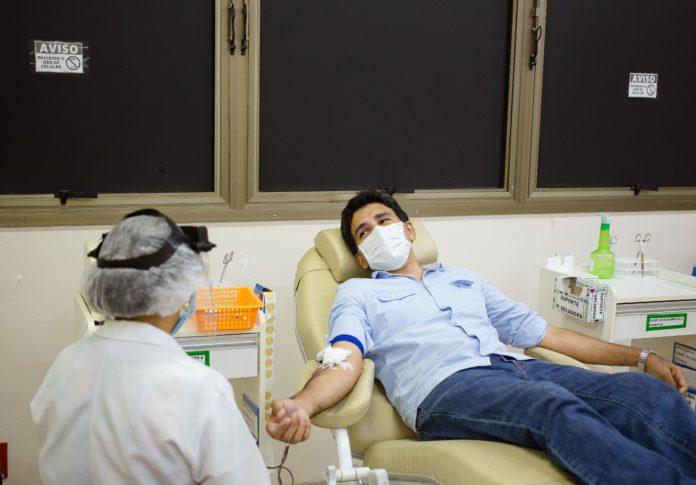 Prof. Júnior Geo chama população para a doação de sangue e alerta para o baixo estoque do Hemocentro