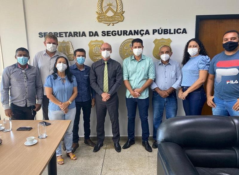 Com apoio de Antonio Andrade município de Silvanópolis garante melhorias na segurança pública