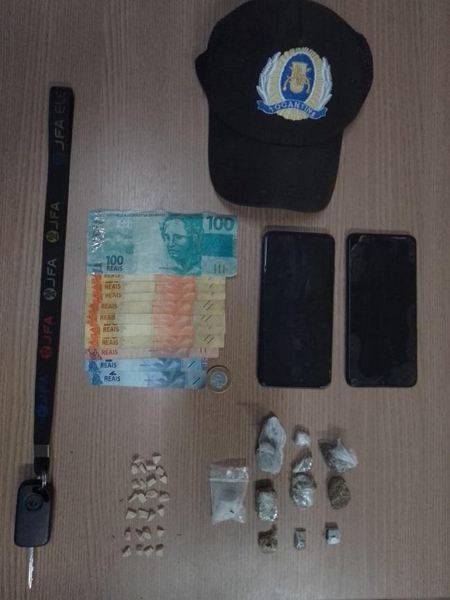 Trio é preso por tráfico de drogas em Paraíso do Tocantins