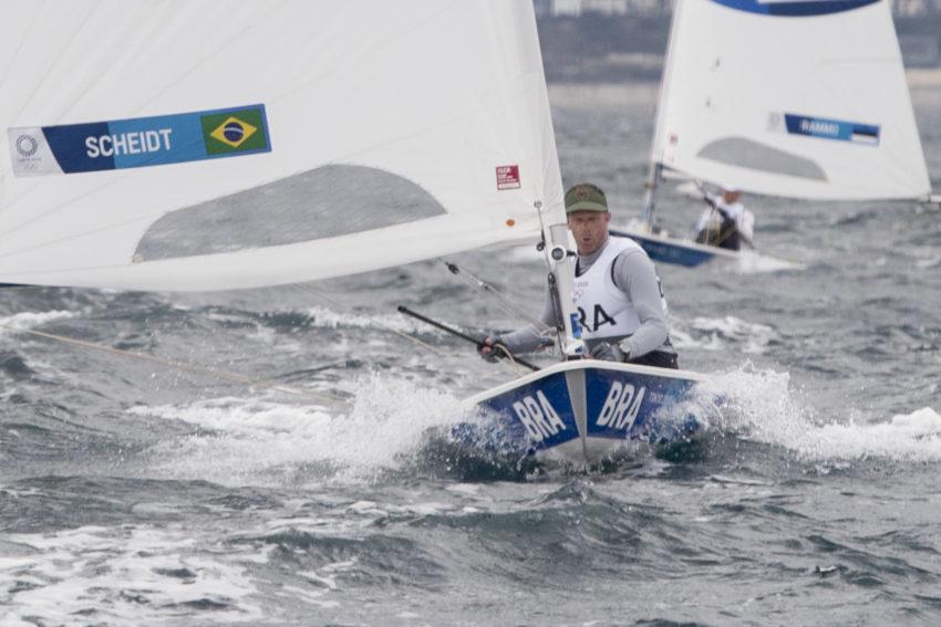 Scheidt está a duas provas da regata da medalha na Olimpíada de Tóquio