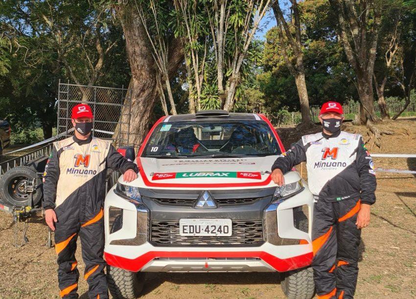 Vice-líderes, Edu Piano/Manuel Ruivo, aceleram na Mitsubishi Cup neste fim de semana