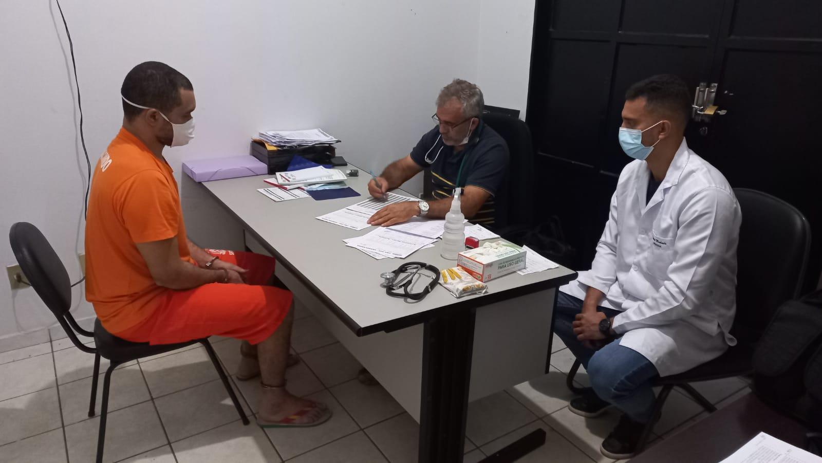Custodiados da Unidade Penal de Barrolândia recebem assistência médica, hospitalar e odontológica