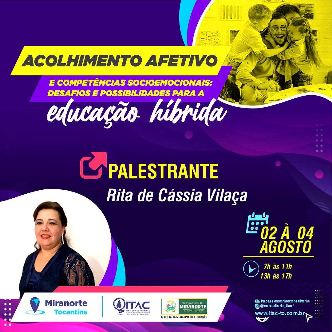 Educação Municipal de Miranorte promove segundo encontro de formação