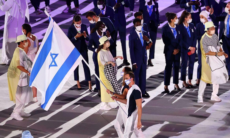 Atletas israelenses mortos em 1972 são lembrados na abertura de Tóquio