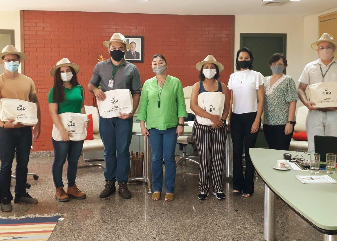 Amapá faz intercâmbio com Tocantins na área de gestão ambiental