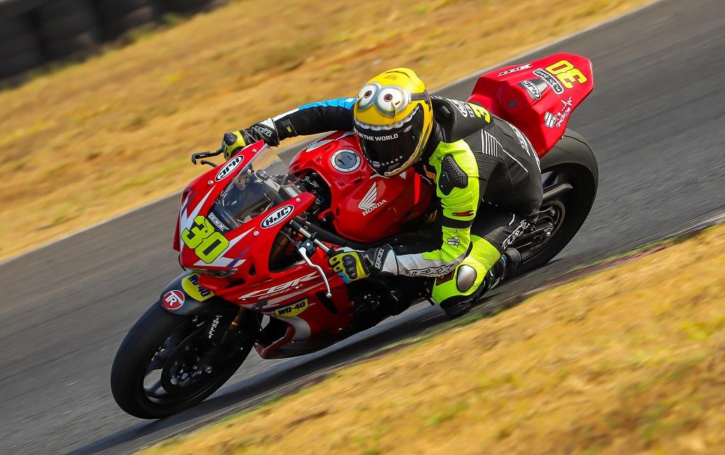 Com novo recorde, Felipe Gonçalves conquista pole position da Copa Pro Honda CBR 650R na quinta etapa do SuperBike Brasil