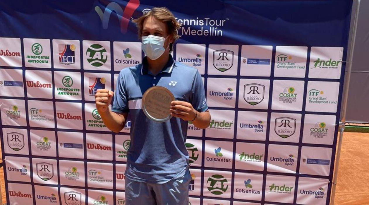 Gilbert Klier é campeão de simples e duplas no ITF M25 de Medellin, na Colômbia