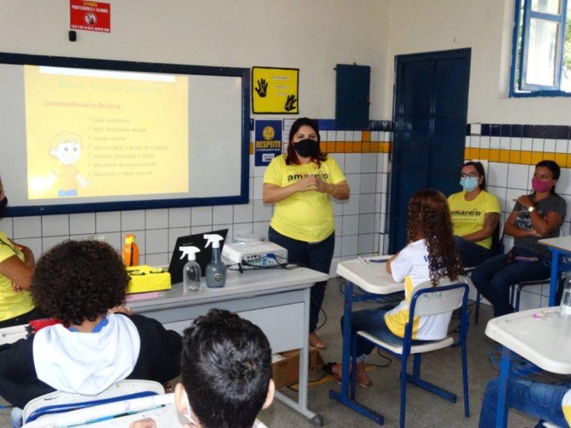 Projeto Diálogos Pela Vida realiza ações de prevenção ao suicídio em escolas de Araguaína