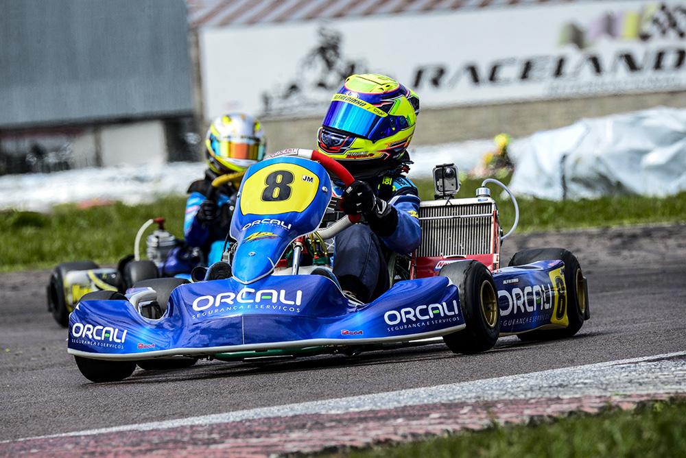 Alfredinho Ibiapina é vice-campeão Sul-brasileiro de Kart