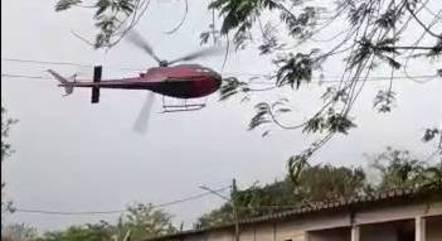 Bandidos rendem piloto no ar e sequestram helicóptero no Rio