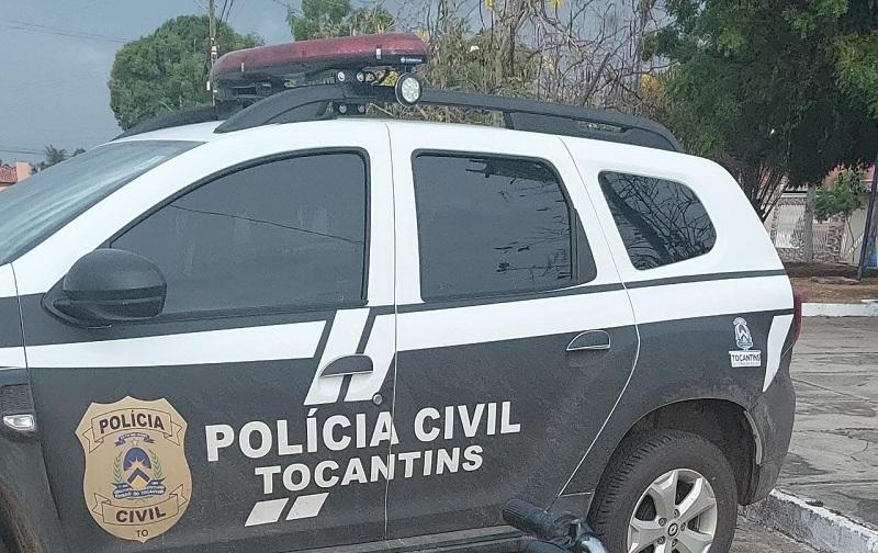Polícia Civil cumpre mandados de prisão contra homem suspeito de praticar roubos à mão armada em Porto Nacional