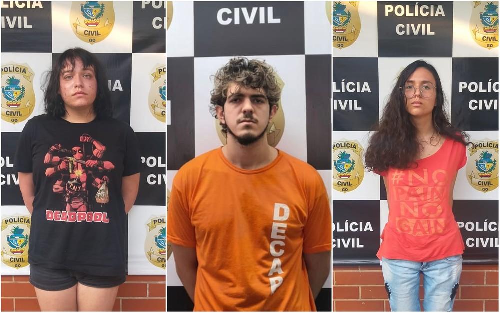 Jovens são presos suspeitos de esfaquear amiga e esconder corpo na mata em Goiânia
